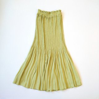MANON<br>SILKY PLEATS SKIRT