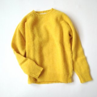 Shetland Woollen Co.<br>Crew Neck<br>Plain Shaggy Dog