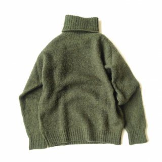 Shetland Woollen Co.<br>Turtle neck<br>Plain Shaggy Dog