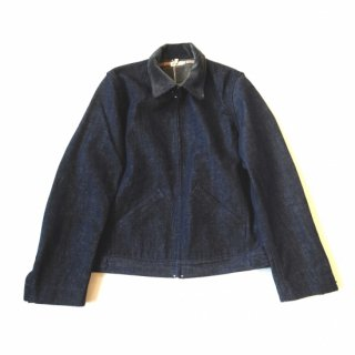 WAREHOUSE&CO.<br>Lot 2149<br>LINED DENIM ZIP UP JACKET<br>(CORDUROY COLLAR)