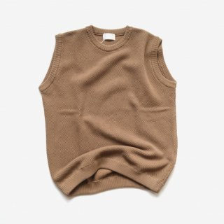 <img class='new_mark_img1' src='https://img.shop-pro.jp/img/new/icons8.gif' style='border:none;display:inline;margin:0px;padding:0px;width:auto;' />soglia<br>Seed Stitch Vest