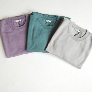 LENO <br>COTTON KNIT TEE<br>