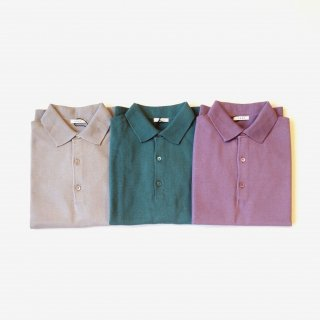 <img class='new_mark_img1' src='https://img.shop-pro.jp/img/new/icons8.gif' style='border:none;display:inline;margin:0px;padding:0px;width:auto;' />LENO <br>COTTON KNIT POLO<br>