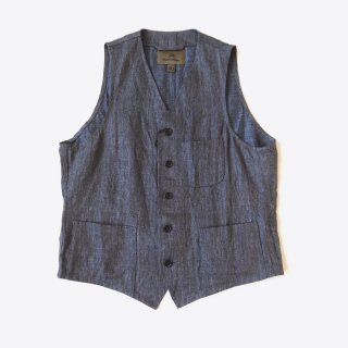 <img class='new_mark_img1' src='https://img.shop-pro.jp/img/new/icons8.gif' style='border:none;display:inline;margin:0px;padding:0px;width:auto;' />Nigel Cabourn<br>HOSPITAL VEST <br>CHAMBRAY