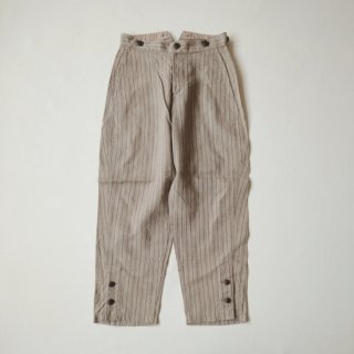 <img class='new_mark_img1' src='https://img.shop-pro.jp/img/new/icons8.gif' style='border:none;display:inline;margin:0px;padding:0px;width:auto;' />Nigel Cabourn ーWOMANー<br>MOTORCYCLE PANT<br>LINEN