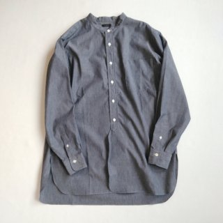 <img class='new_mark_img1' src='https://img.shop-pro.jp/img/new/icons8.gif' style='border:none;display:inline;margin:0px;padding:0px;width:auto;' />LENO <br>UNISEX<br>BAND COLLAR SHIRT
