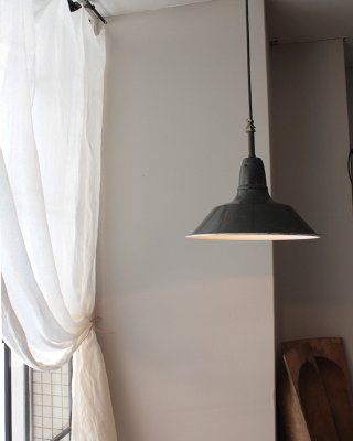 エナメルランプ   Enamel Lamp