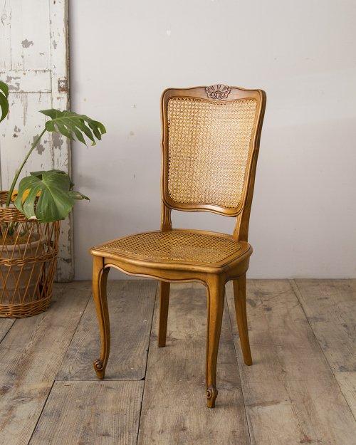 ラタンシートチェア.a  Rattan seat Chair