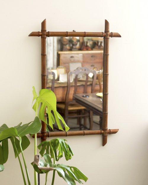 バンブーミラー.b  Bamboo Mirror