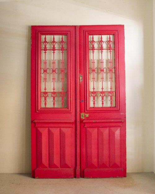 アイアンダブルドア  Iron Double Door
