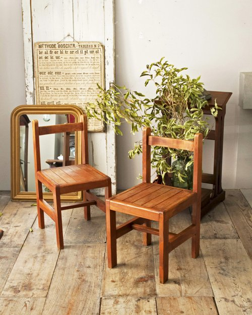 ウッドチェア.c  Wood Chair