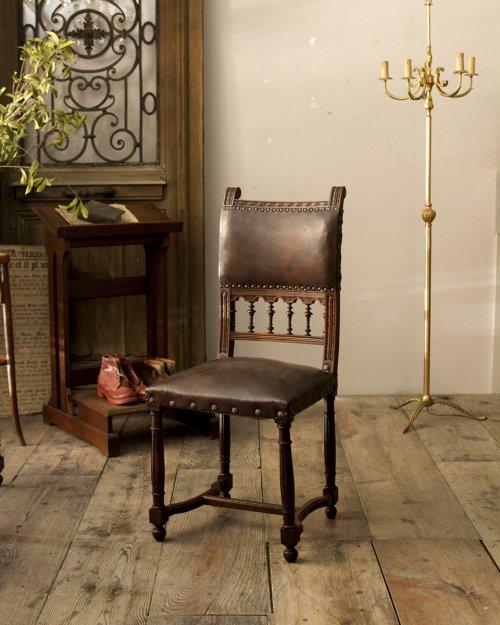 レザーチェア.a  Leather Chair