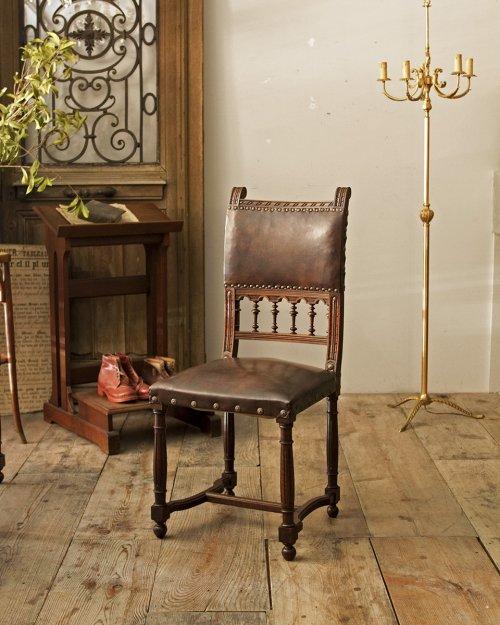 レザーチェア.b  Leather Chair