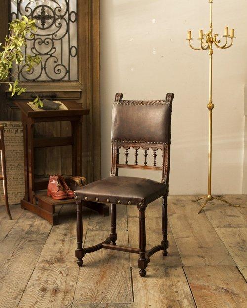 レザーチェア.d  Leather Chair