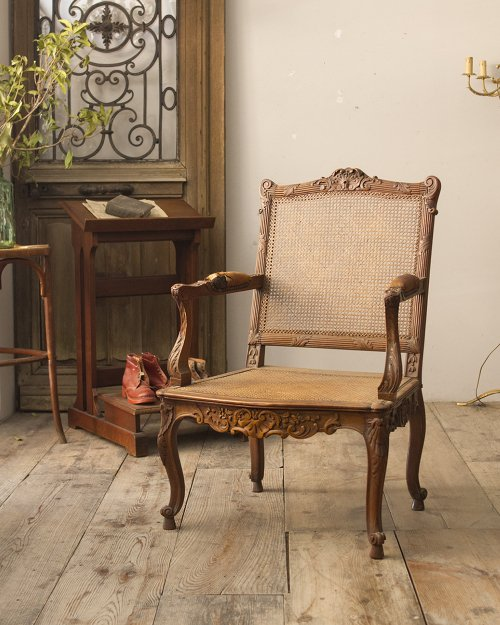 ラタンアームチェア  Ratten Arm Chair
