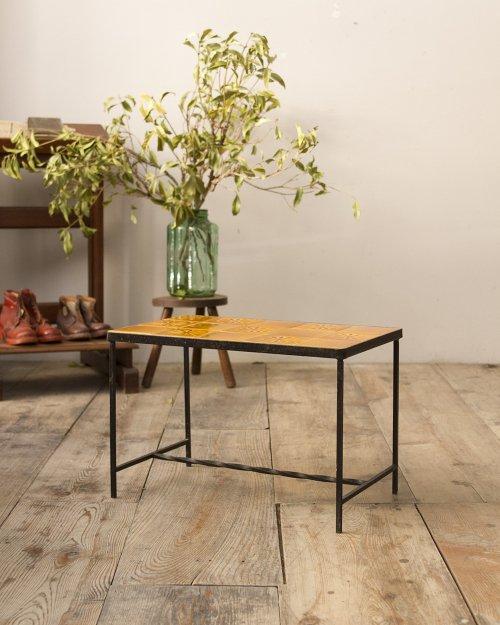 タイルトップソファテーブル  Tile Top Sofa Table