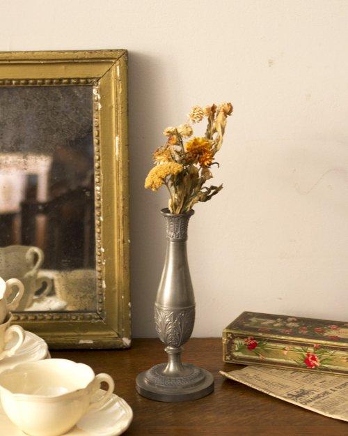 ピューター フラワーベース  Etain Flower Vase