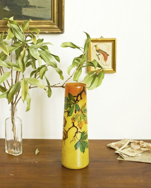 エナメル彩 フラワーベース  Enamel Flower Vase