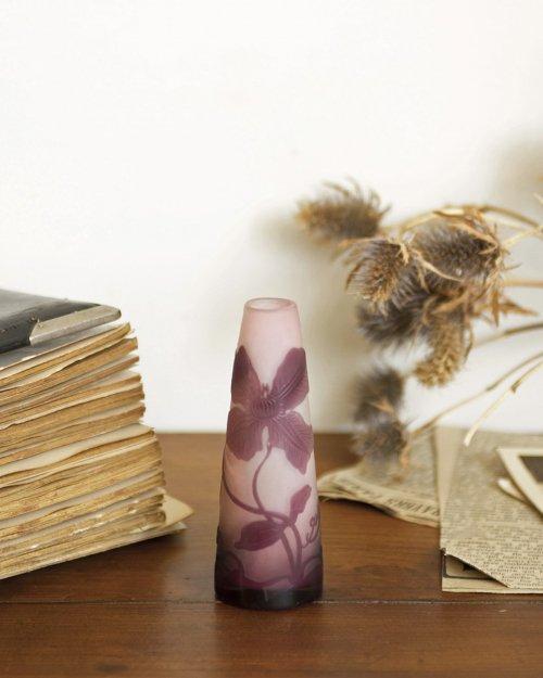 """""""エミール ガレ"""" フラワーベース  """"Galle"""" Flower Vase"""