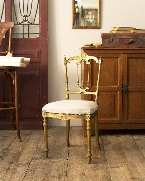 ルイ16世様式 ペイントチェア   Louis XVI Chair