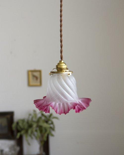 ガラスシェードペンダントランプ.1  Glass Shade Pendant Lamp
