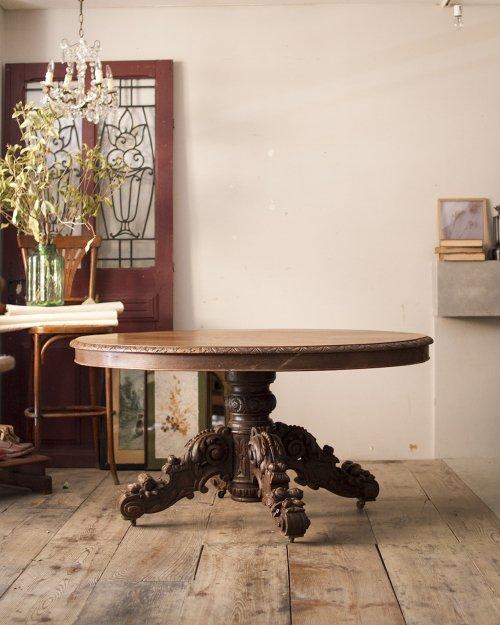 アンリ2世様式 オーバルテーブル  Henri II Oval Table