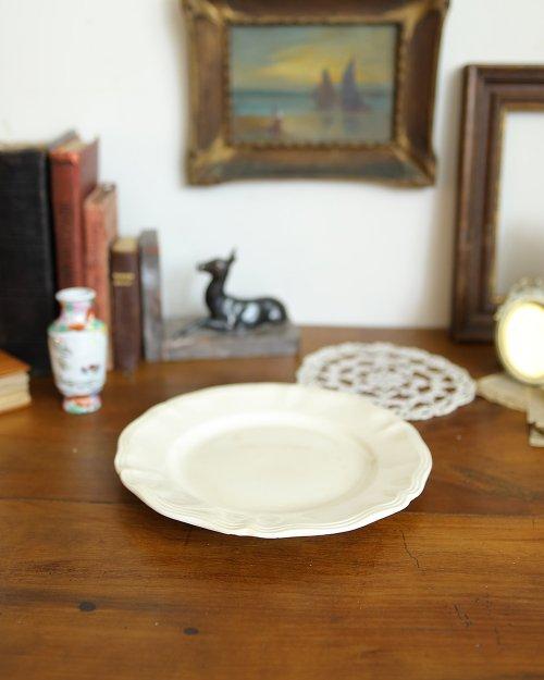 """サルグミンヌ  プレート.e  """"Sarreguemines"""" Plate (Φ22.5cm)"""