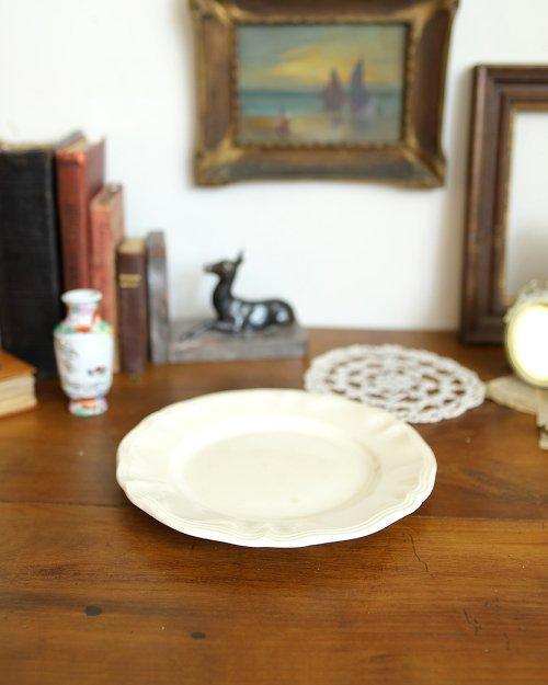 """サルグミンヌ  プレート.f  """"Sarreguemines"""" Plate (Φ22.5cm)"""
