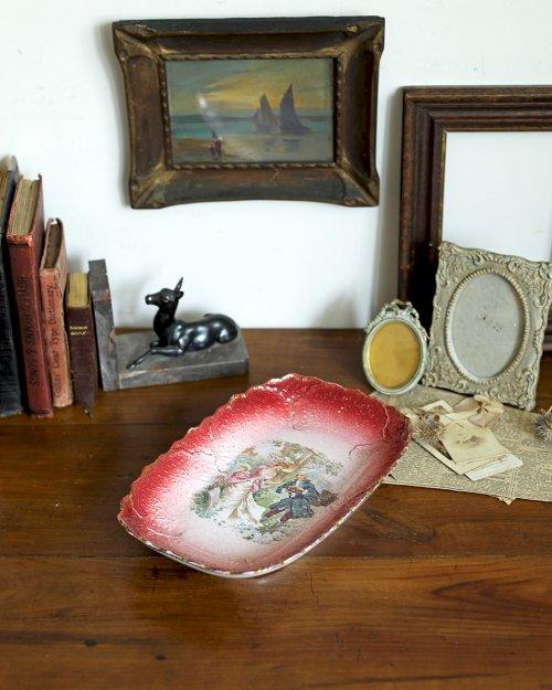 セラミック ピクチャープレート.a  Ceramic Picture Plate