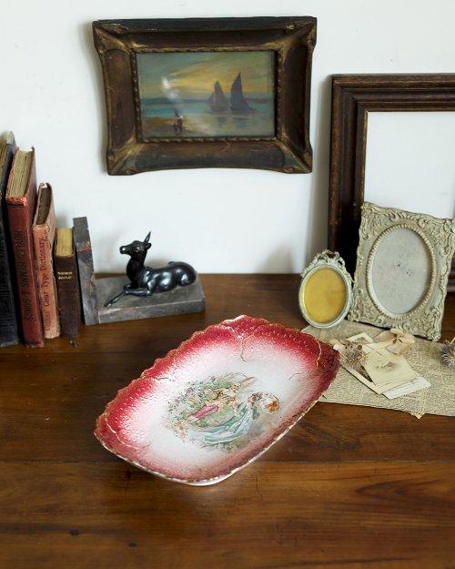セラミック ピクチャープレート.b  Ceramic Picture Plate