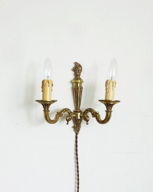 真鍮製 ウォールランプ.b  Brass Wall Lamp