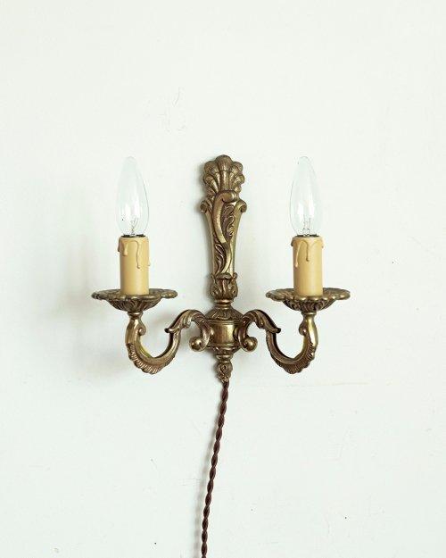 真鍮製 ウォールランプ.c  Brass Wall Lamp