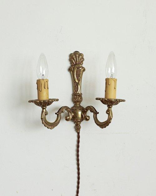 真鍮製 ウォールランプ.d  Brass Wall Lamp