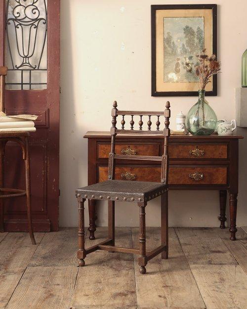 レザーチェア   Henri II Leather Chair.3