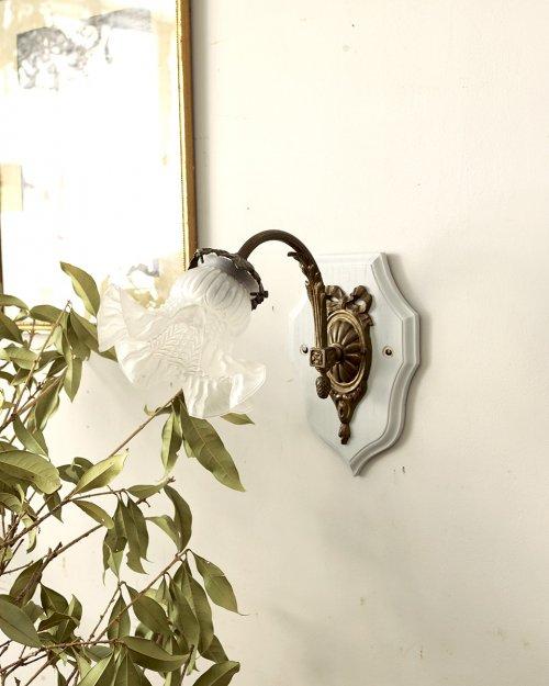 ガラスシェード ウォールランプ.e  Glass shade Wall Lamp