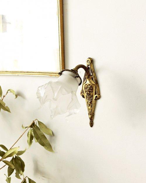 ガラスシェード ウォールランプ.h  Glass shade Wall Lamp