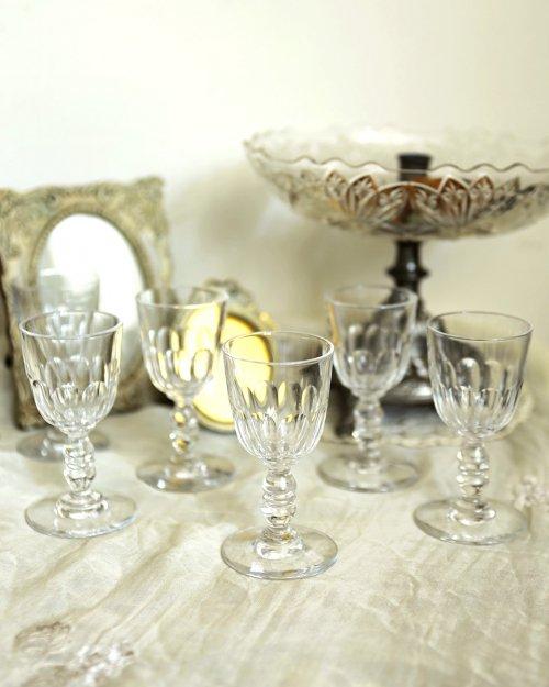 """""""バカラ"""" ショルンヌ リキュールグラス  BACCARAT Chaulnes Glass"""