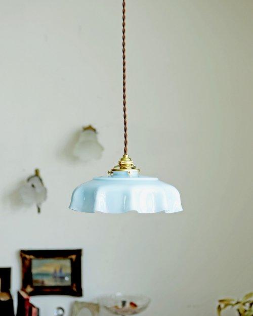 ガラスシェードランプ.2  Glass Shade Lamp
