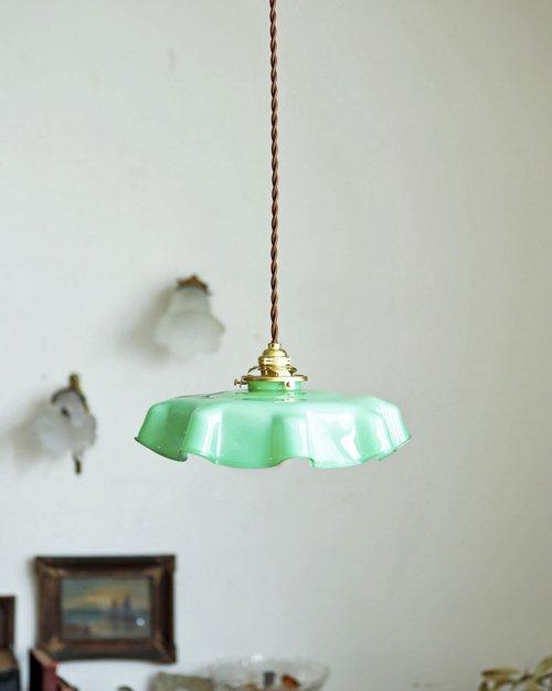 ガラスシェードランプ.4  Glass Shade Lamp