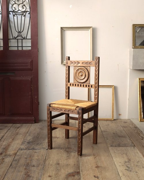 ラッシュシートチェア.4  Rush Seat Chair.4