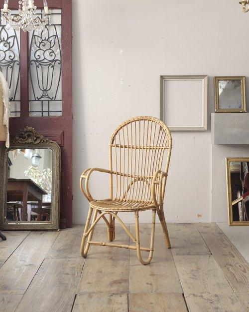 ラタン アームチェア  Rattan Arm Chair