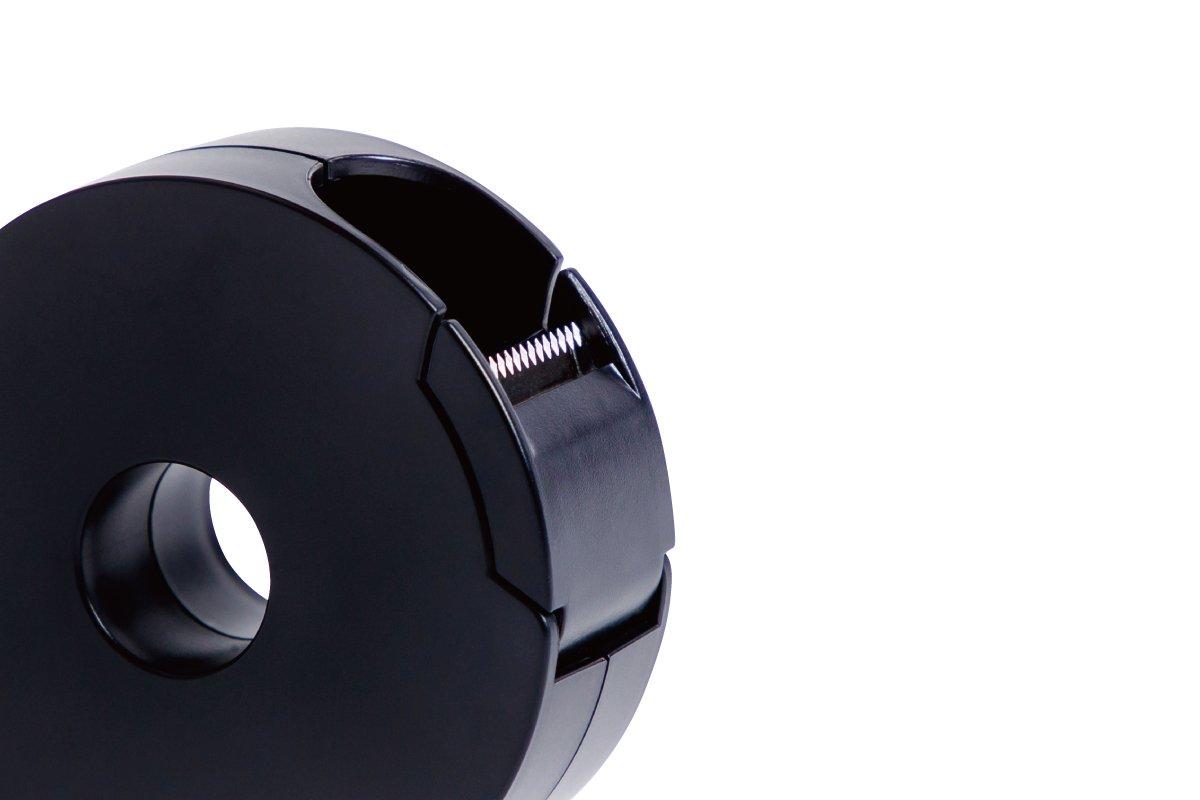 タブも作れるテープカッター 小 (黒)