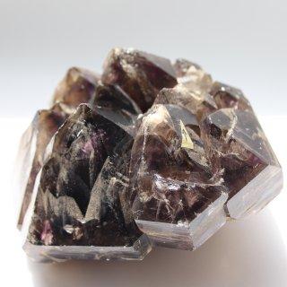 超希少!ブラジル産・水入りジャカレー水晶原石(スモーキーアメジストエレスチャル水晶原石)約1.67kg
