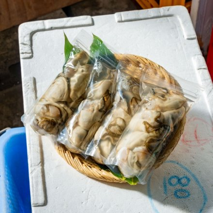 白野さんのむきカキ(250g×4個)[加熱用]【送料込】