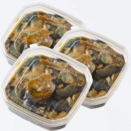 SU00034 <水産物応援商品>道又貢さんのアワビのトシロ[3個入]【送料無料】