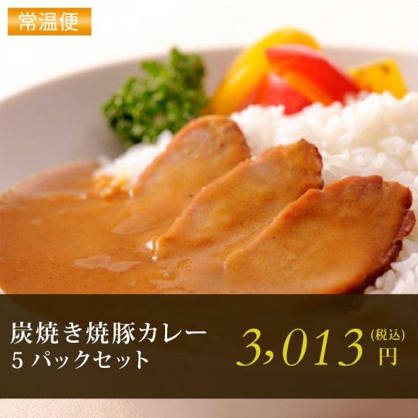 炭焼き焼豚カレー5Pセット