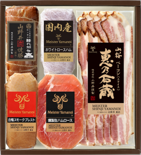 日光東照宮献上醤油使用山野井焼豚と合鴨セット(YT-51)