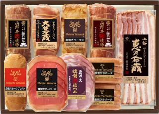 日光東照宮献上醤油使用山野井焼豚バラエティセット(YT-101)