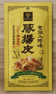 豚揚皮<ポークチップ>(バター醤油風味)10パックセット