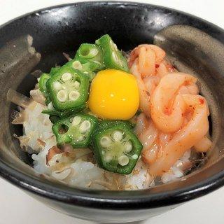 ねばっと!いかのっけ(醤辛) オクラ40g、醤辛40g